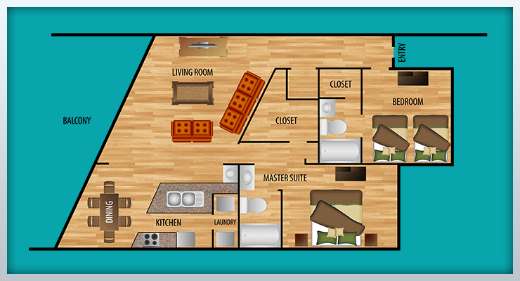 Port Royal on Family Room Addition Floor Plan