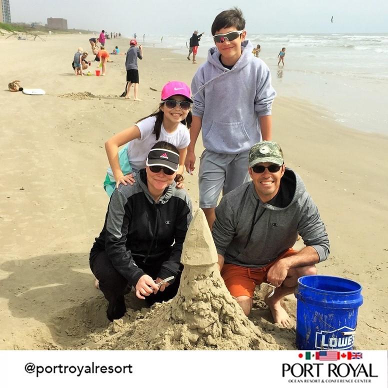 Activities - Building sand castles