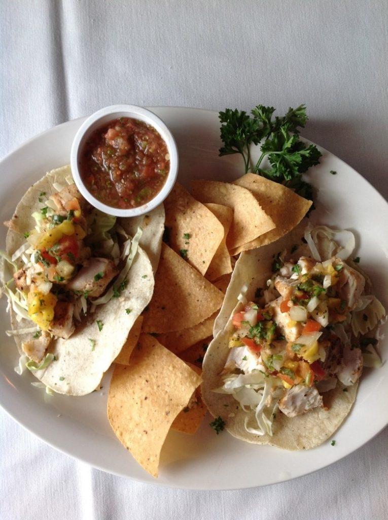 Food at Restaurant 361